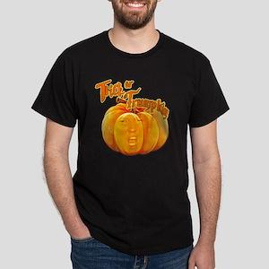 Funny Donald Trump Trick or Trumpkin  Dark T-Shirt