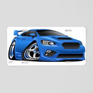 Import Compact Sports Car Aluminum License Plate