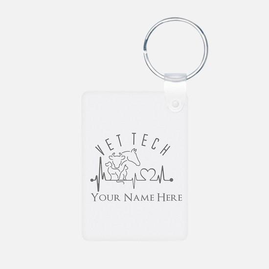 Custom Vet Tech HB Keychains