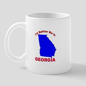 I'd Rather Be in Georgia Mug