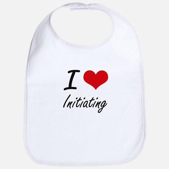I Love Initiating Bib