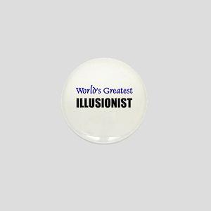 Worlds Greatest ILLUSIONIST Mini Button