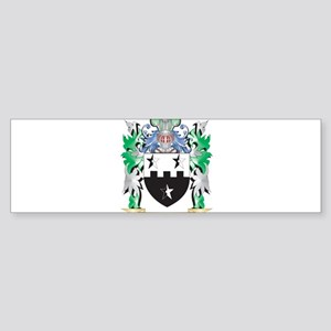 Cheeseman Coat of Arms - Family Cre Bumper Sticker