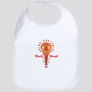 Rock Is Dead Bib
