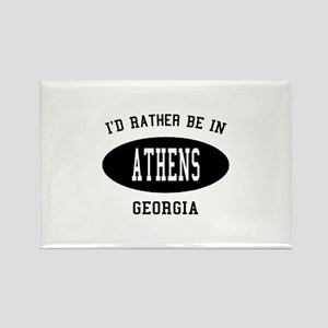 I'd Rather Be in Athens, Geor Rectangle Magnet