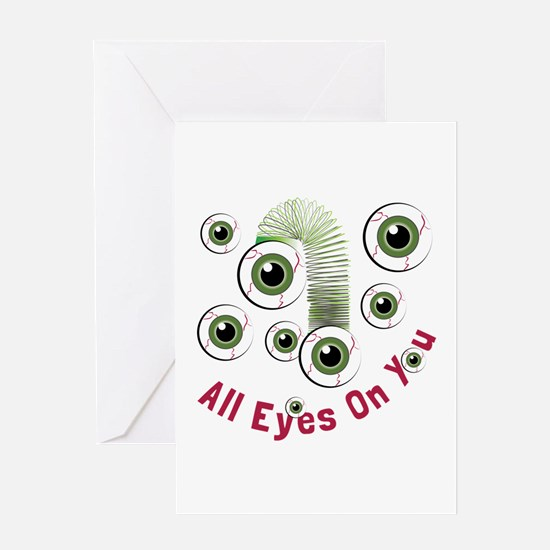 Eyes On You Greeting Cards