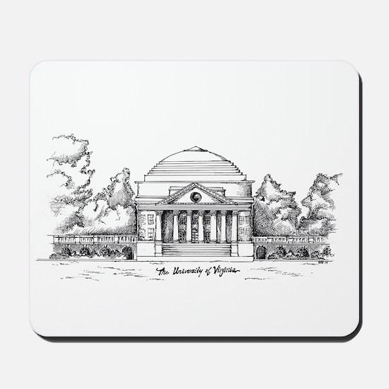 Rotunda Ink Sketch Mousepad
