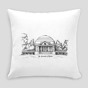 Rotunda Ink Sketch Everyday Pillow