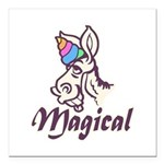 Magical Unicorn Square Car Magnet 3