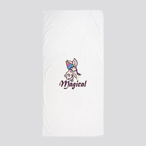 Magical Unicorn Beach Towel