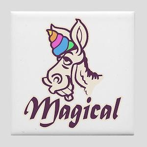 Magical Unicorn Tile Coaster