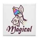 Magical Unicorn Tile Coaster