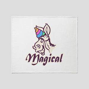 Magical Unicorn Throw Blanket