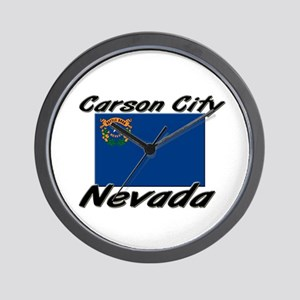 Carson City Nevada Wall Clock