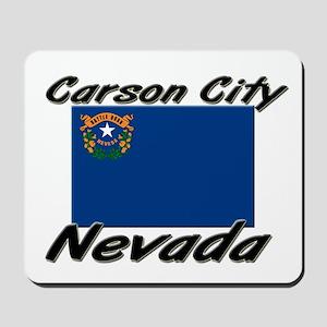 Carson City Nevada Mousepad