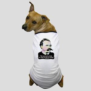 Nietzsche - Art v. Reality Dog T-Shirt