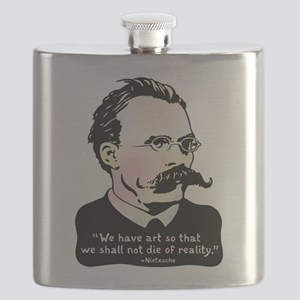 Nietzsche - Art v. Reality Flask