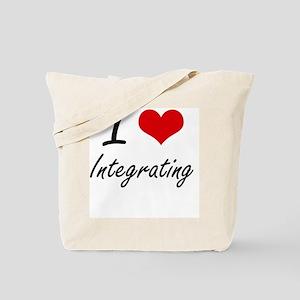 I Love Integrating Tote Bag