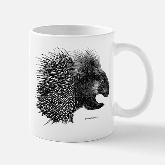 Crested Porcupine Mug