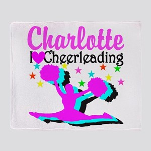 CHEER 4EVER Throw Blanket