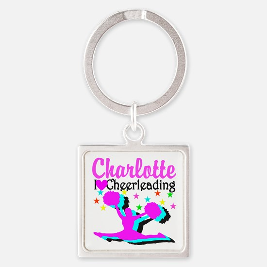 CHEER 4EVER Square Keychain