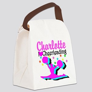 CHEER 4EVER Canvas Lunch Bag