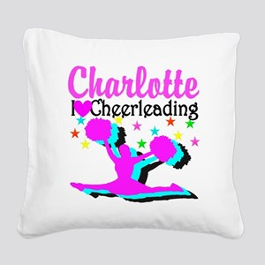 CHEER 4EVER Square Canvas Pillow