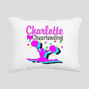 CHEER 4EVER Rectangular Canvas Pillow