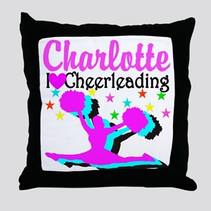 CHEER 4EVER Throw Pillow