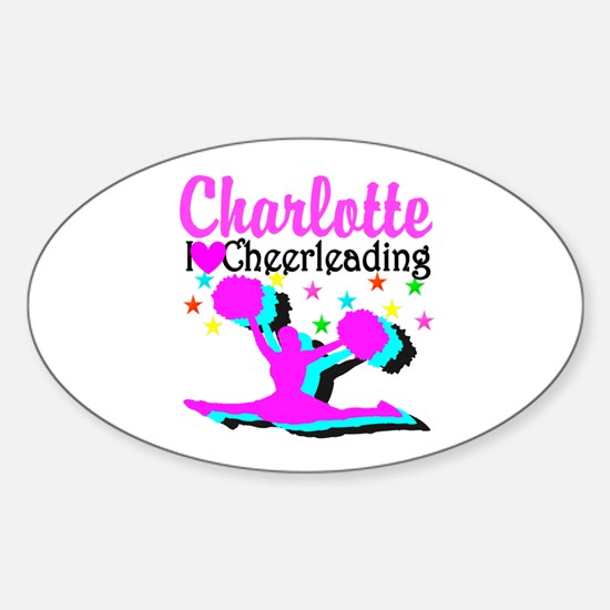 CHEER 4EVER Sticker (Oval)
