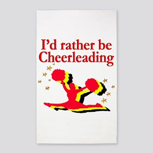 BORN TO CHEER Area Rug