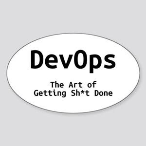 DevOps - The Art of Getting Sh*t Done Sticker