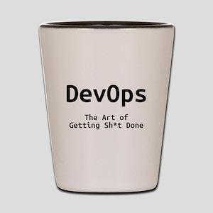 DevOps - The Art of Getting Sh*t Done Shot Glass