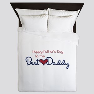 Happy Fathers Day Queen Duvet
