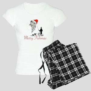 CHRISTMAS - MERRY FISHMAS Women's Light Pajamas