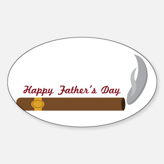 Fathers Day Cigar Decal