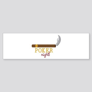 Poker Night Bumper Sticker