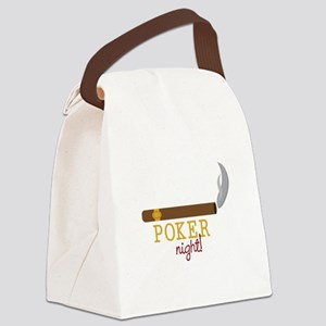 Poker Night Canvas Lunch Bag