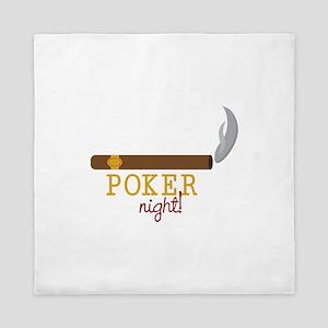 Poker Night Queen Duvet
