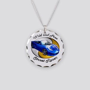Toyota MR2 Spyder Necklace Circle Charm