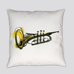 Trumpet Everyday Pillow