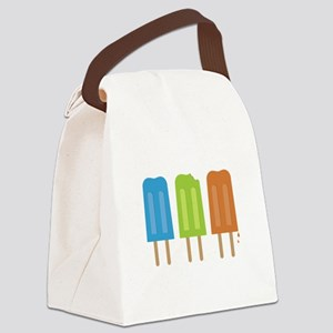 Popsicles Canvas Lunch Bag