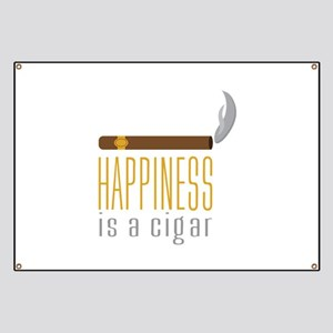 Cigar Happiness Banner