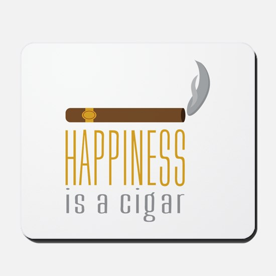 Cigar Happiness Mousepad