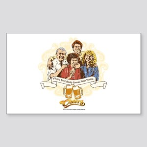 Cheers: Where Everybody Knows Sticker (Rectangle)
