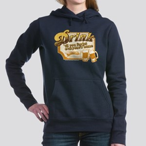 Cheers: Drink Women's Hooded Sweatshirt