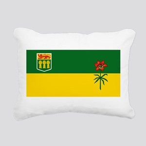 Saskatchewan Rectangular Canvas Pillow