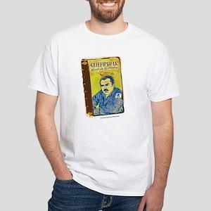 Cheers: Cliffipedia White T-Shirt
