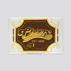 Cheers Logo Rectangle Magnet
