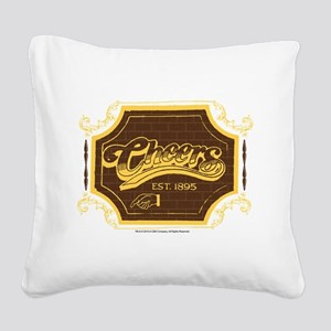 Cheers Logo Square Canvas Pillow